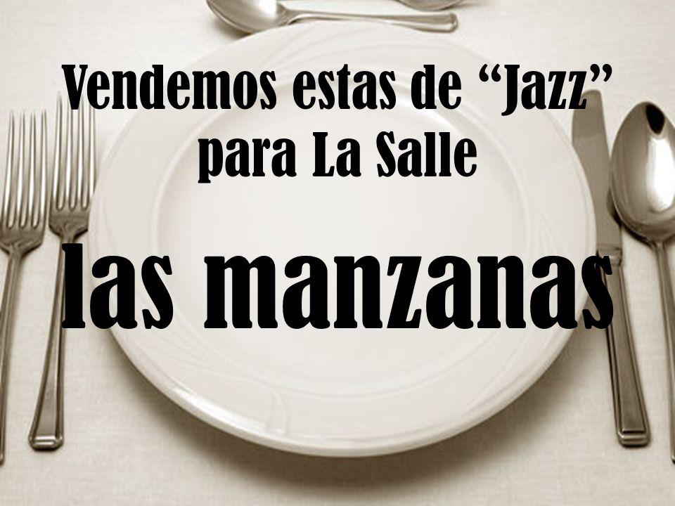 Vendemos estas de Jazz para La Salle