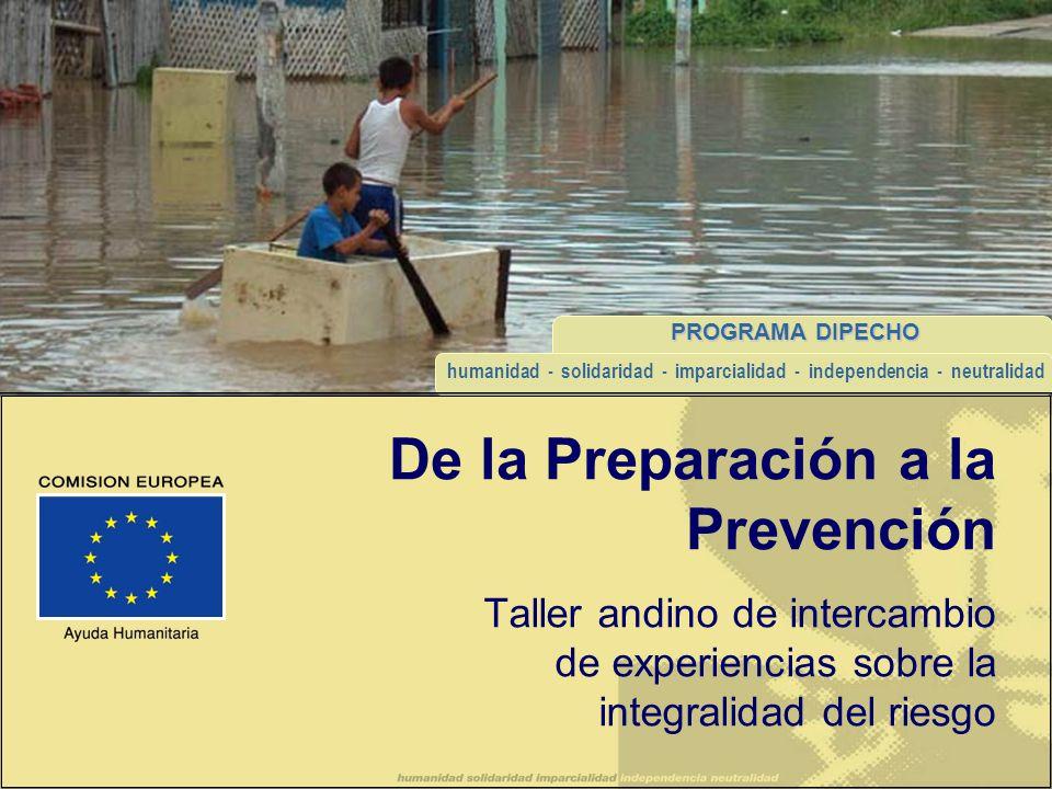 De la Preparación a la Prevención
