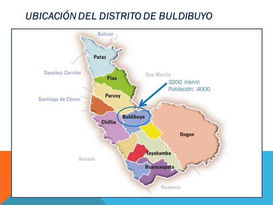 UBICACIÓN DEL DISTRITO DE BULDIBUYO