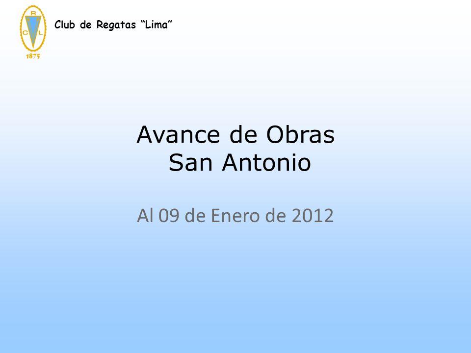 Avance de Obras San Antonio