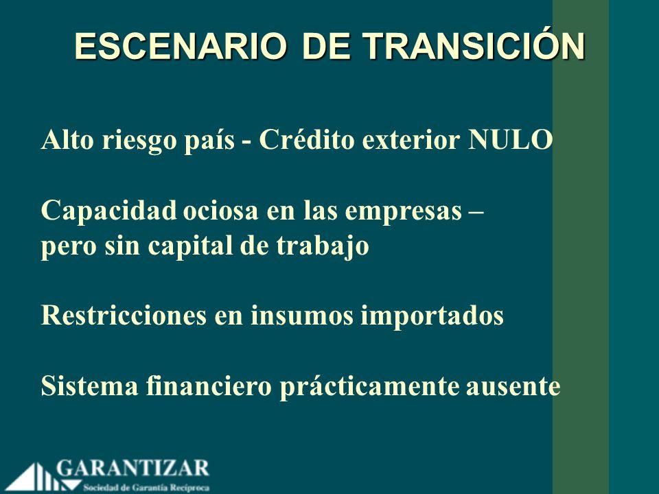 ESCENARIO DE TRANSICIÓN