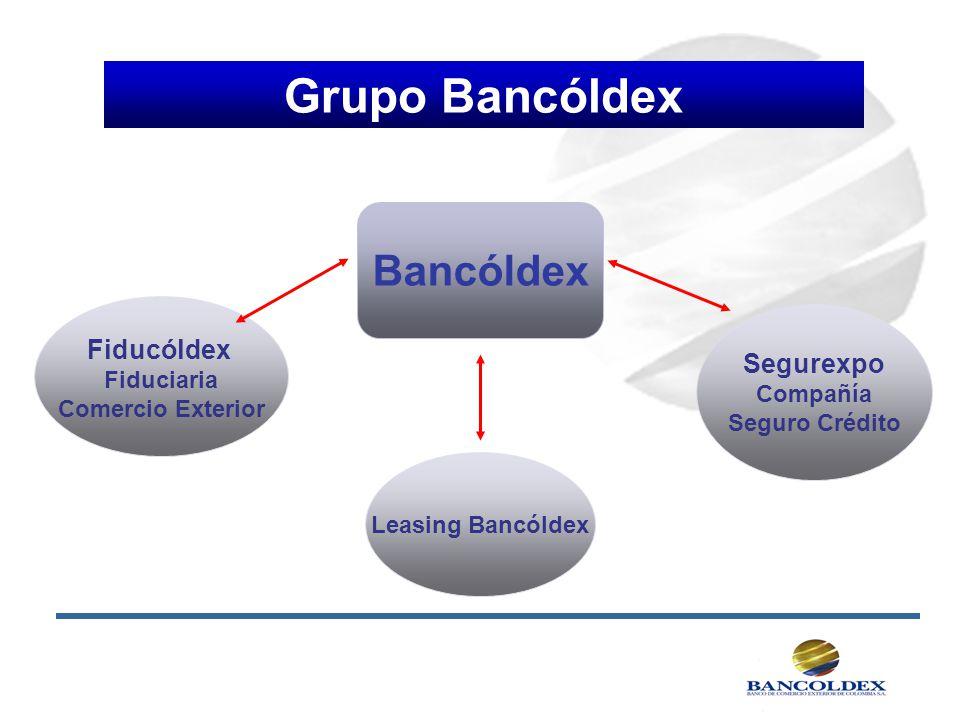 Grupo Bancóldex Bancóldex Fiducóldex Segurexpo Fiduciaria Compañía