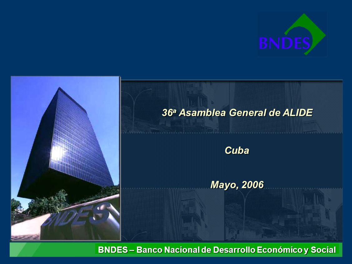 36a Asamblea General de ALIDE Cuba Mayo, 2006