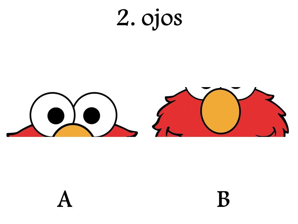 2. ojos A B