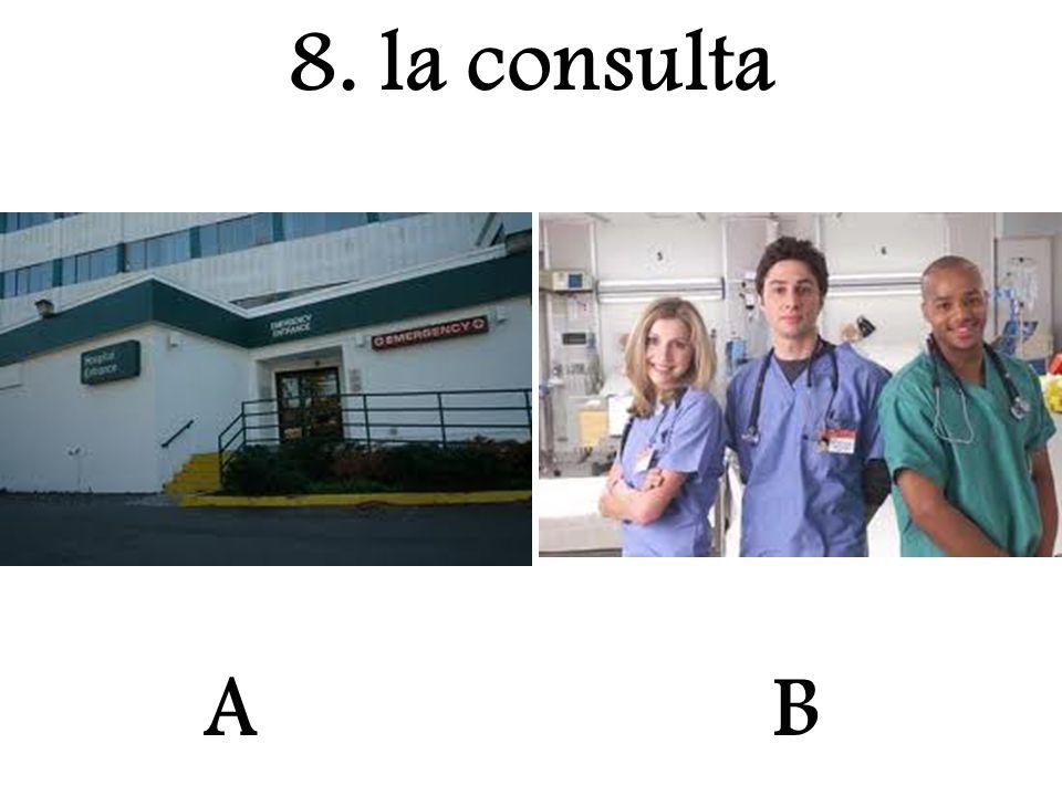 8. la consulta A B