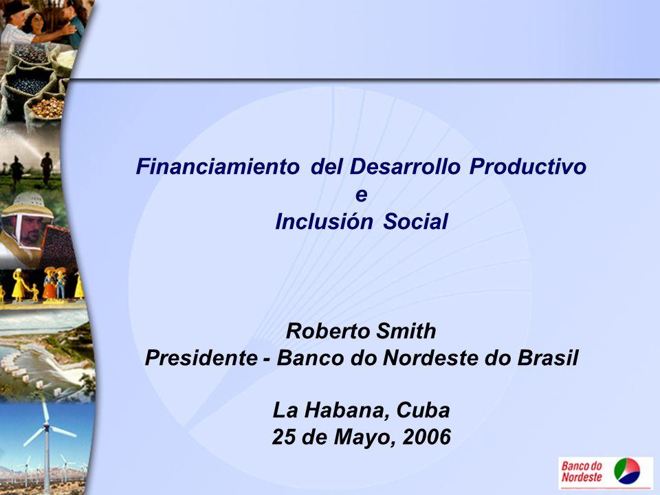 Financiamiento del Desarrollo Productivo e Inclusión Social