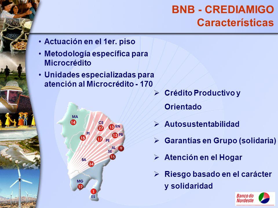 BNB - CREDIAMIGO Características