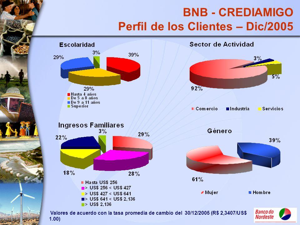 Perfil de los Clientes – Dic/2005