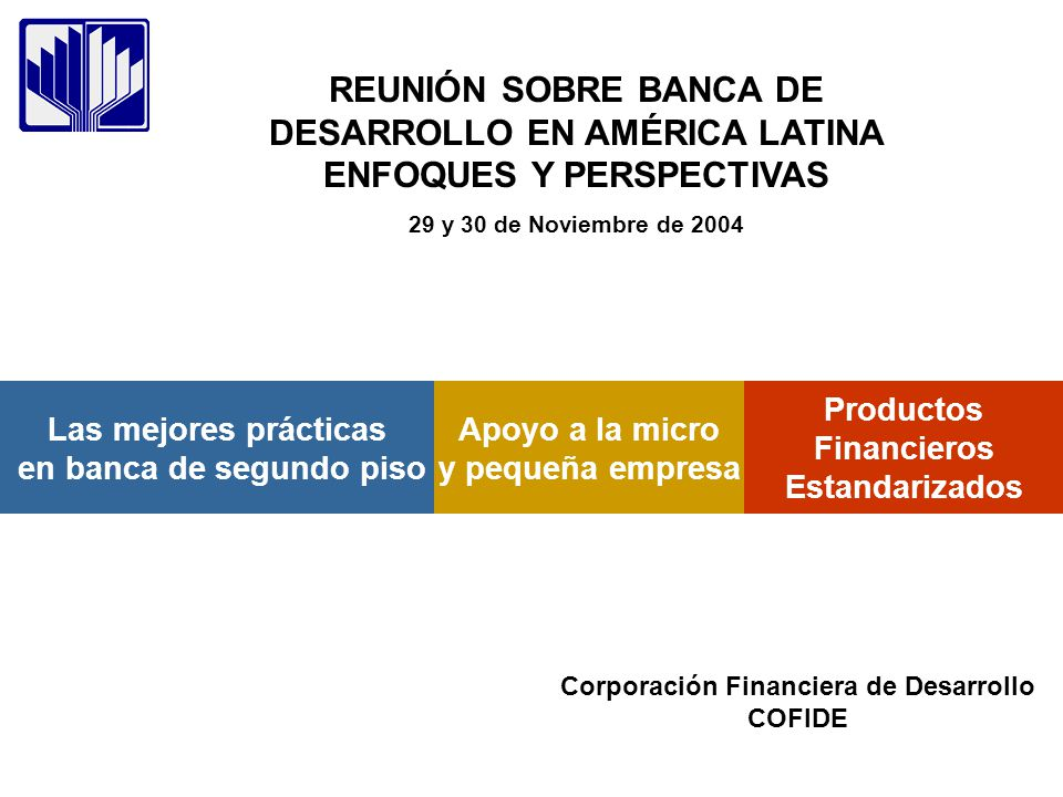 Productos Financieros Estandarizados