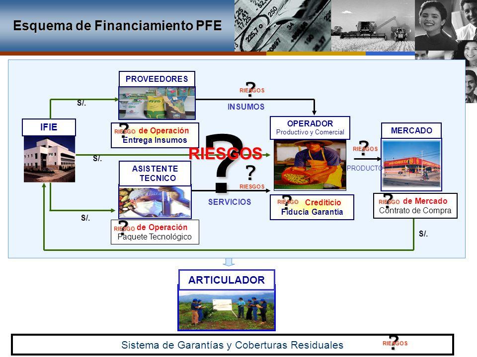 RIESGOS Esquema de Financiamiento PFE ARTICULADOR