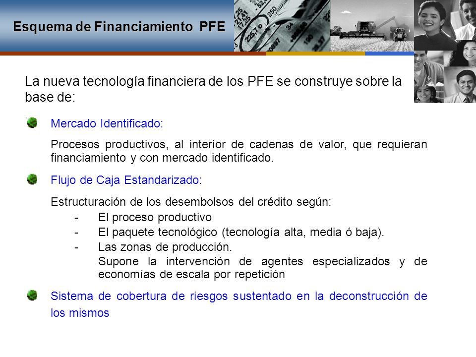Esquema de Financiamiento PFE