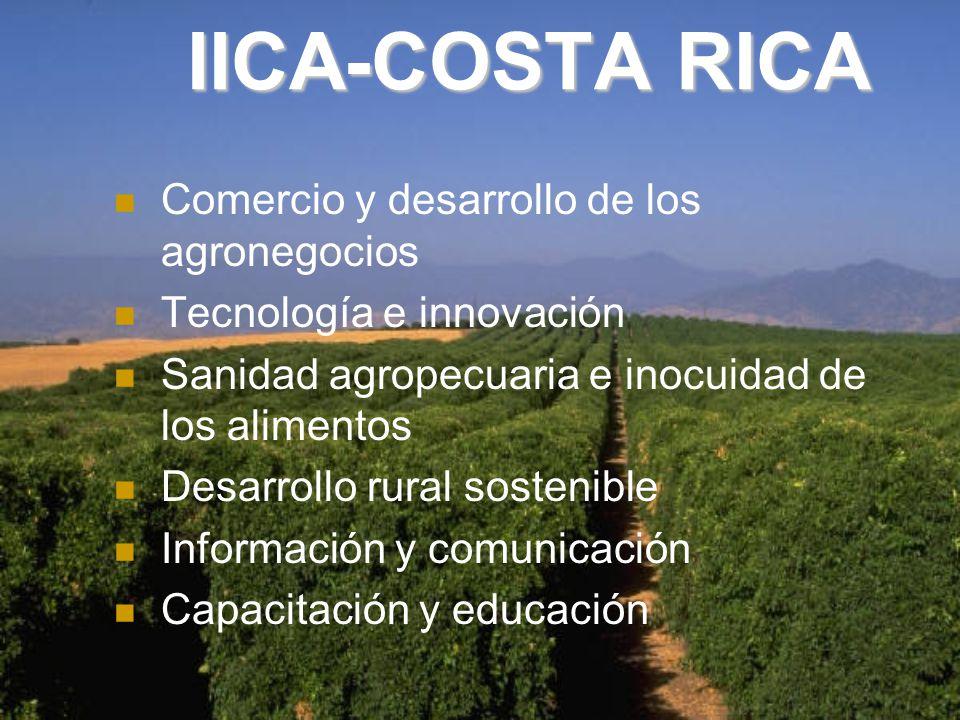 IICA-COSTA RICA Comercio y desarrollo de los agronegocios
