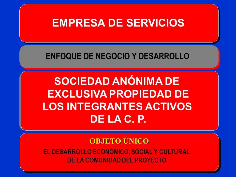 EMPRESA DE SERVICIOS SOCIEDAD ANÓNIMA DE EXCLUSIVA PROPIEDAD DE