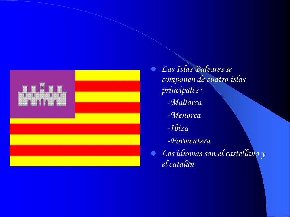 Las Islas Baleares se componen de cuatro islas principales :