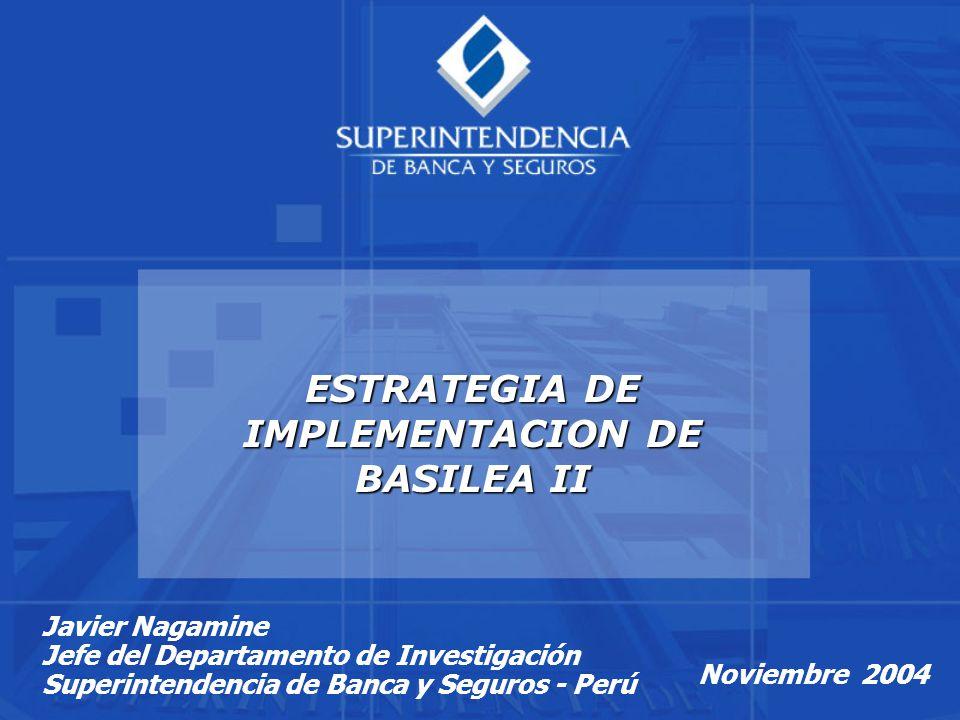 ESTRATEGIA DE IMPLEMENTACION DE BASILEA II