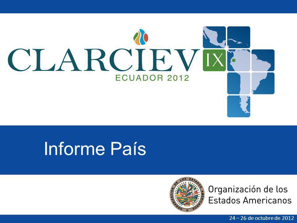 Informe País 24 – 26 de octubre de 2012