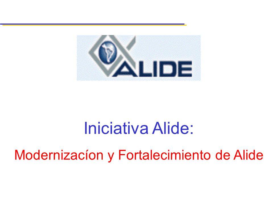Modernizacíon y Fortalecimiento de Alide