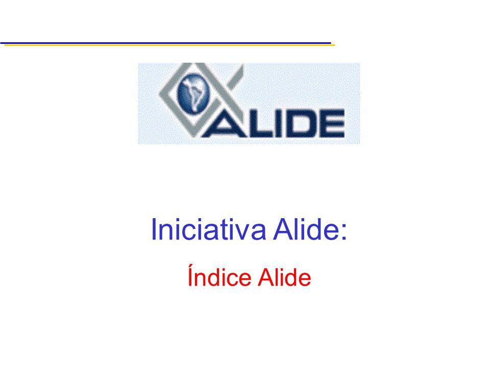 Iniciativa Alide: Índice Alide