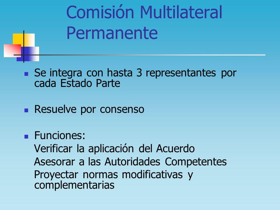 Comisión Multilateral Permanente