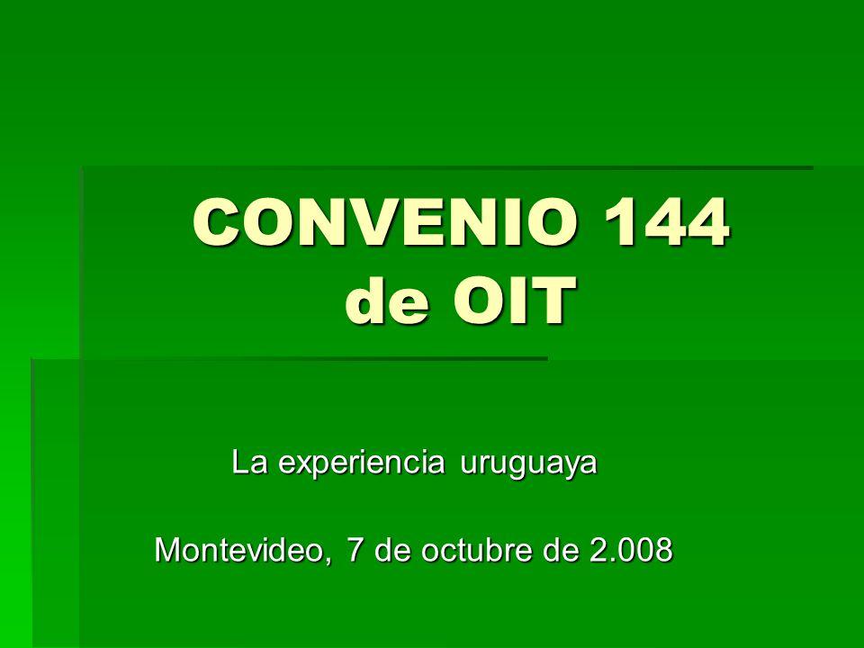 La experiencia uruguaya Montevideo, 7 de octubre de 2.008