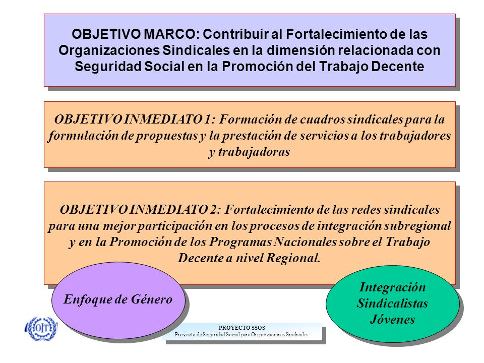 Proyecto de Seguridad Social para Organizaciones Sindicales