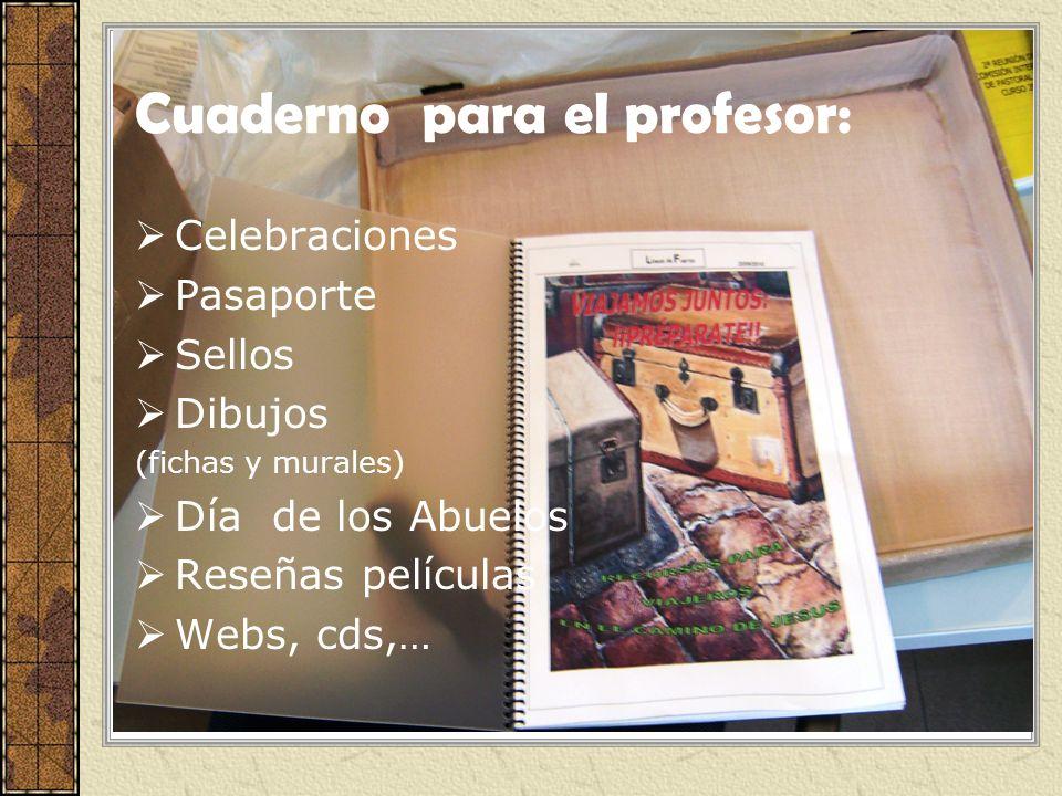 Cuaderno para el profesor: