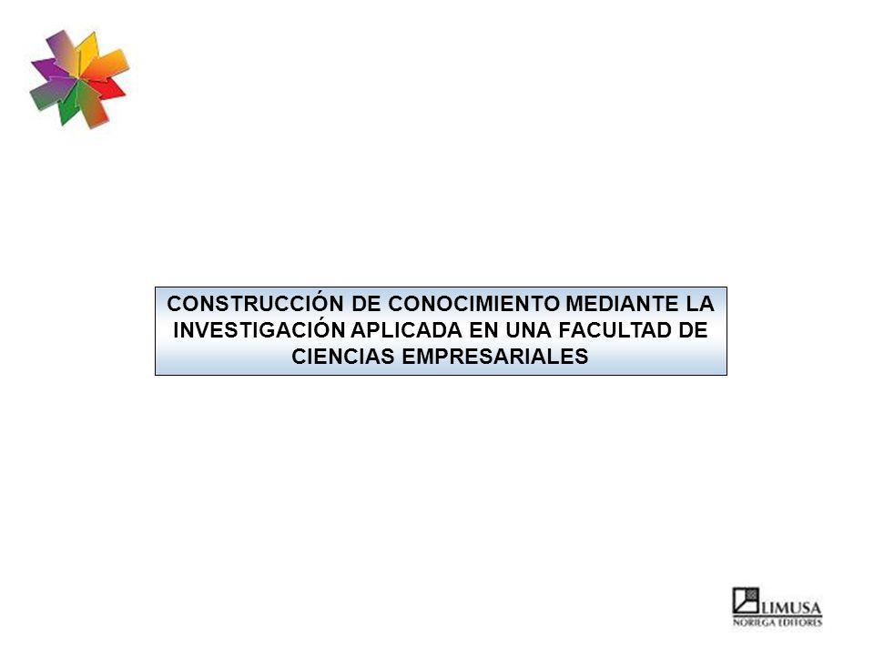 CONSTRUCCIÓN DE CONOCIMIENTO MEDIANTE LA