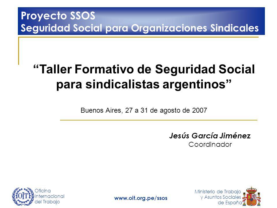 Taller Formativo de Seguridad Social para sindicalistas argentinos