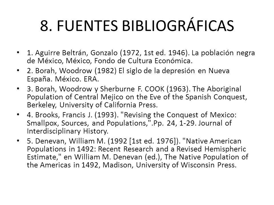 8. FUENTES BIBLIOGRÁFICAS
