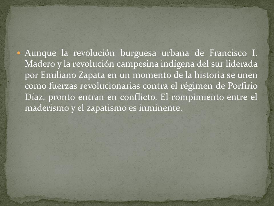 Aunque la revolución burguesa urbana de Francisco I