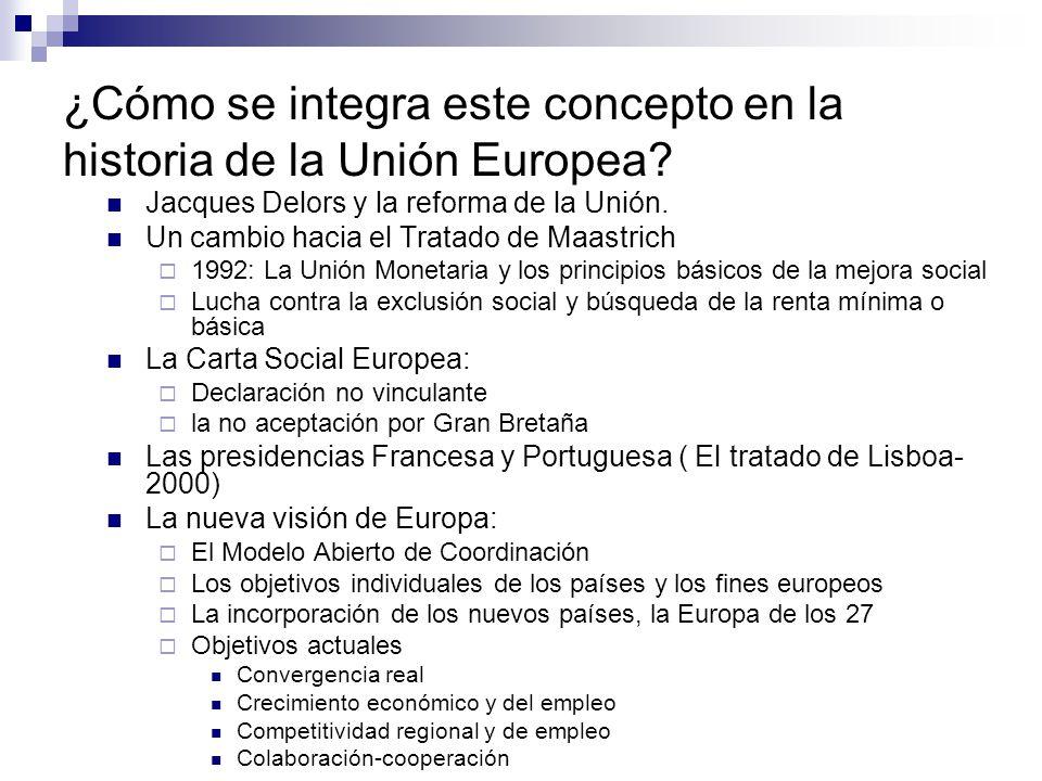 ¿Cómo se integra este concepto en la historia de la Unión Europea