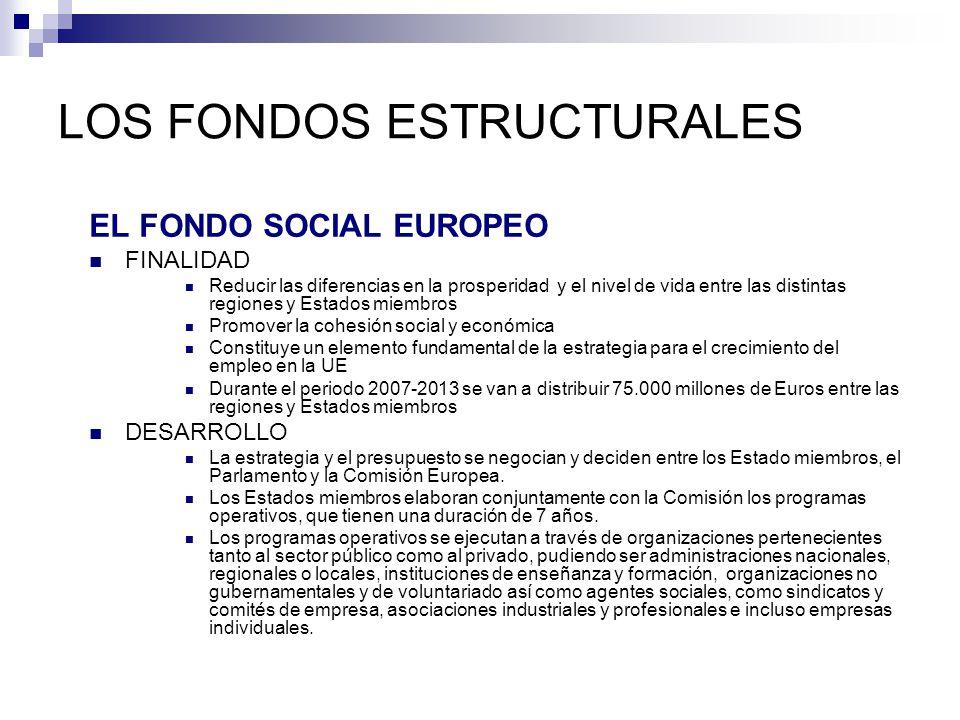 LOS FONDOS ESTRUCTURALES