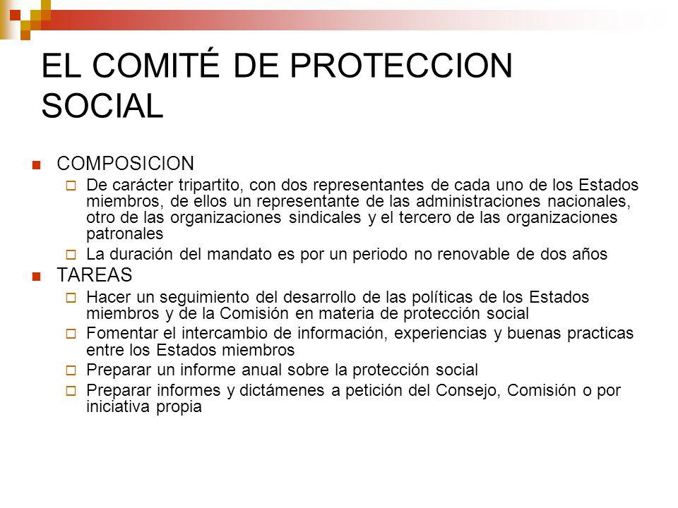 EL COMITÉ DE PROTECCION SOCIAL