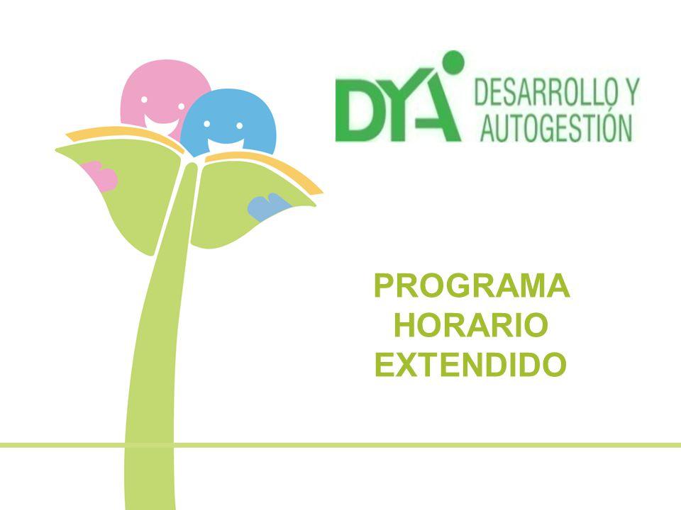 PROGRAMA HORARIO EXTENDIDO