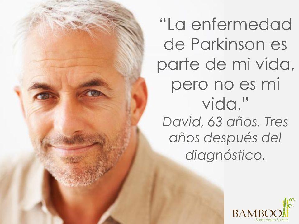La enfermedad de Parkinson es parte de mi vida, pero no es mi vida