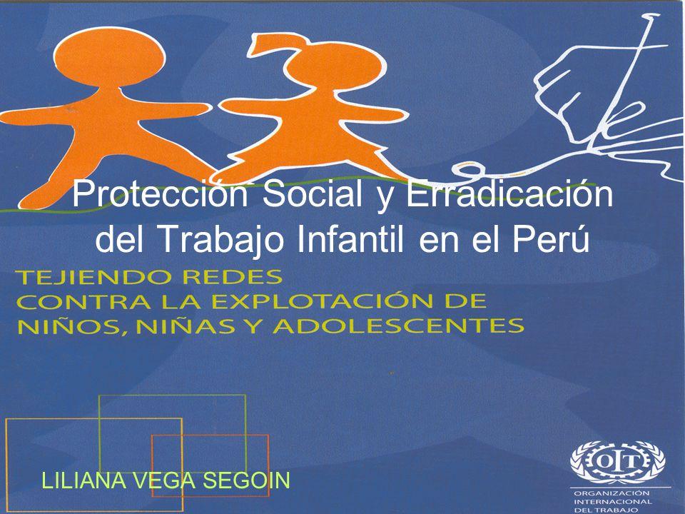 Protección Social y Erradicación del Trabajo Infantil en el Perú