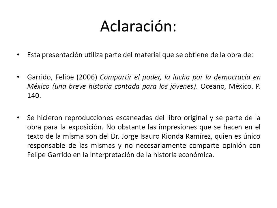 Aclaración: Esta presentación utiliza parte del material que se obtiene de la obra de: