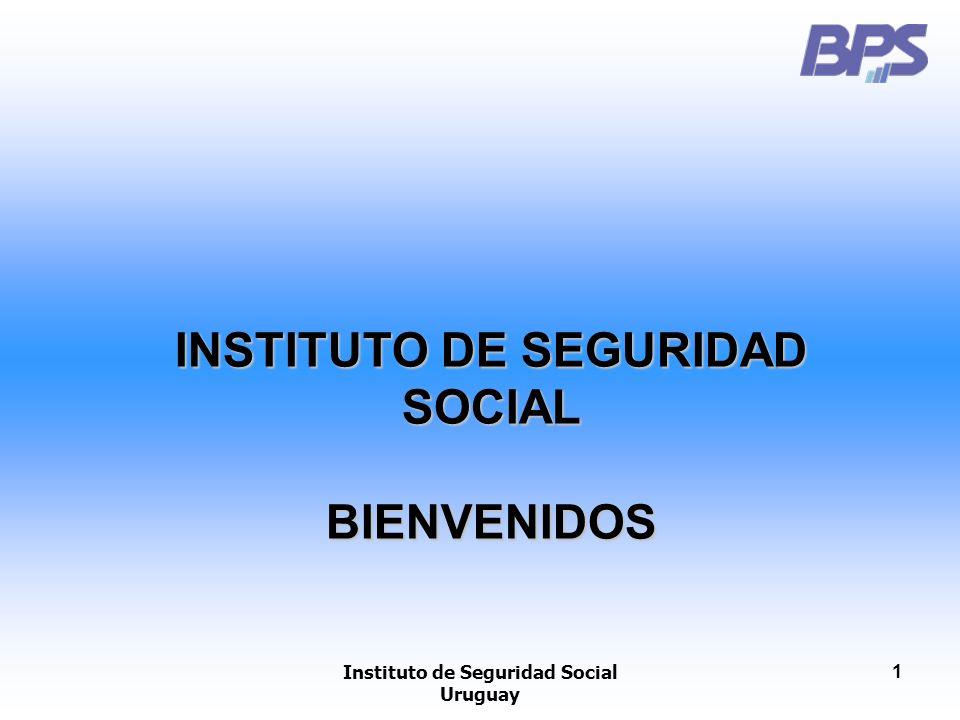 INSTITUTO DE SEGURIDAD SOCIAL Instituto de Seguridad Social