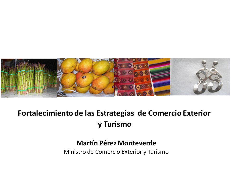 Fortalecimiento de las Estrategias de Comercio Exterior y Turismo