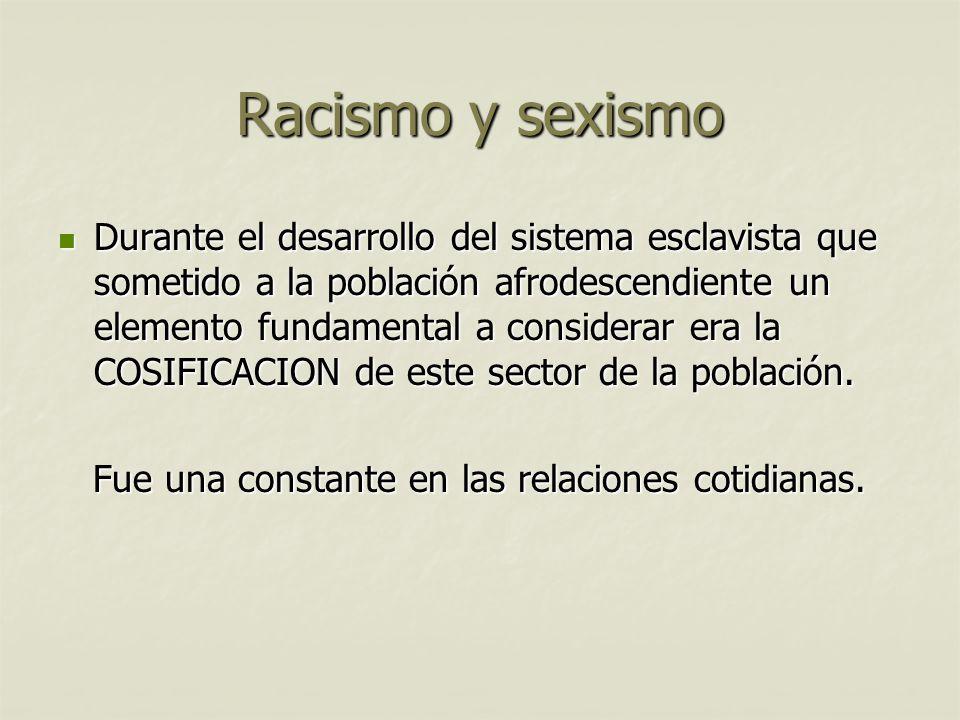 Racismo y sexismo