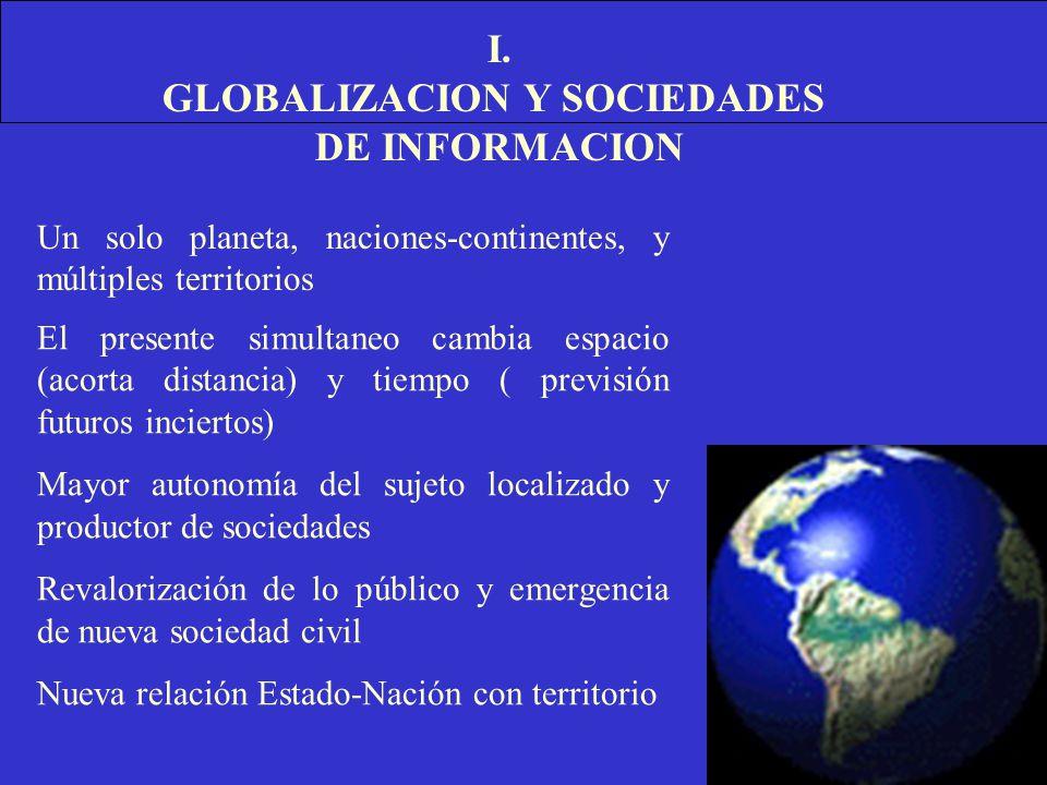 GLOBALIZACION Y SOCIEDADES