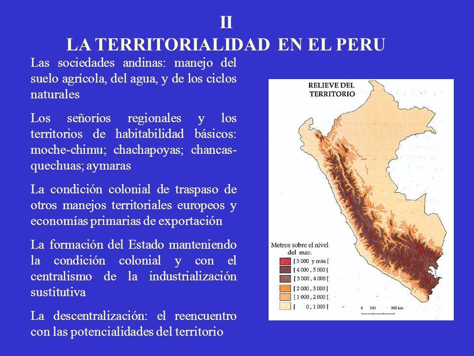 LA TERRITORIALIDAD EN EL PERU