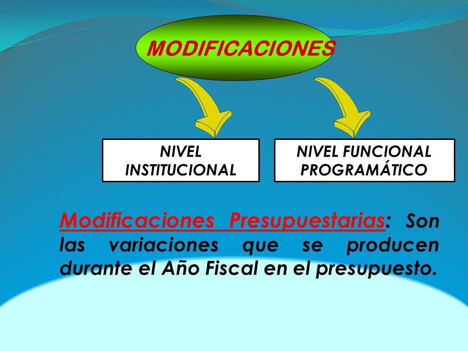 NIVEL FUNCIONAL PROGRAMÁTICO