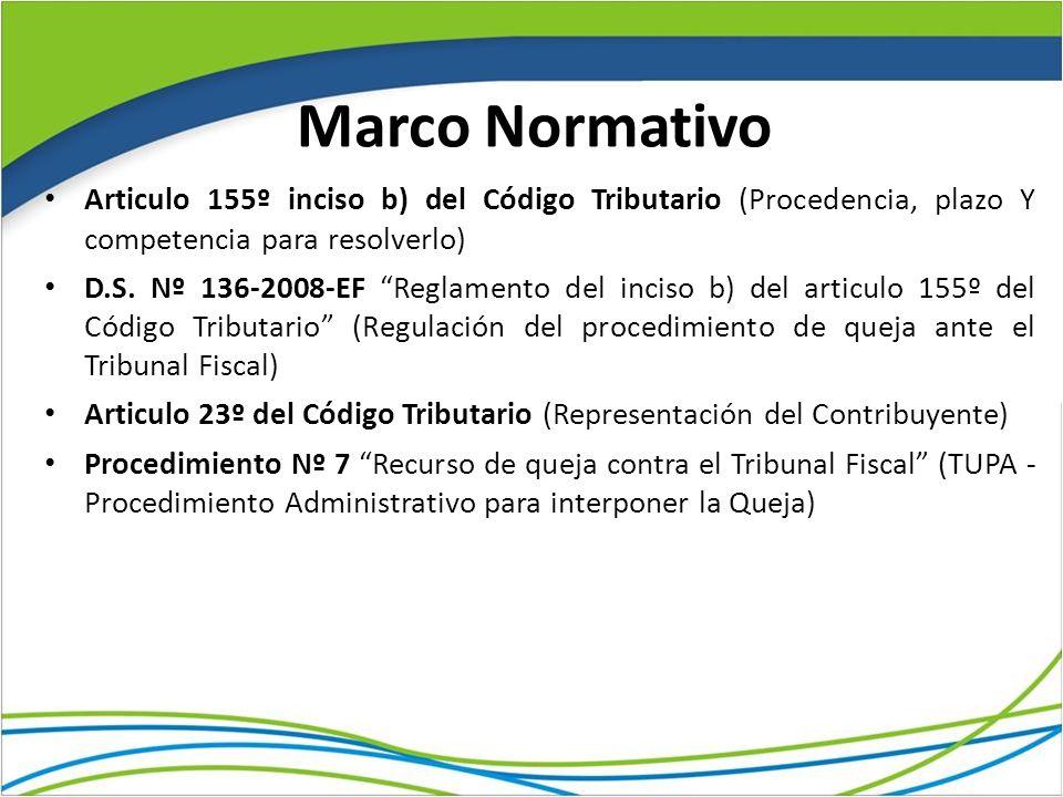 Marco Normativo Articulo 155º inciso b) del Código Tributario (Procedencia, plazo Y competencia para resolverlo)