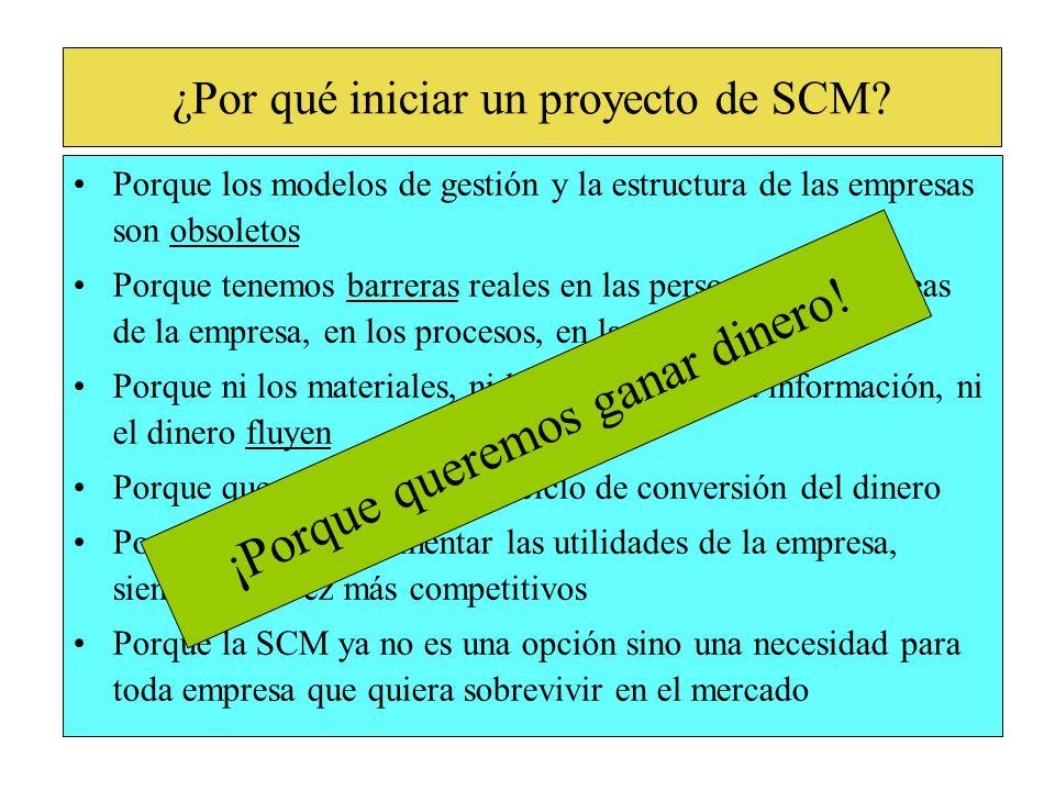 ¿Por qué iniciar un proyecto de SCM