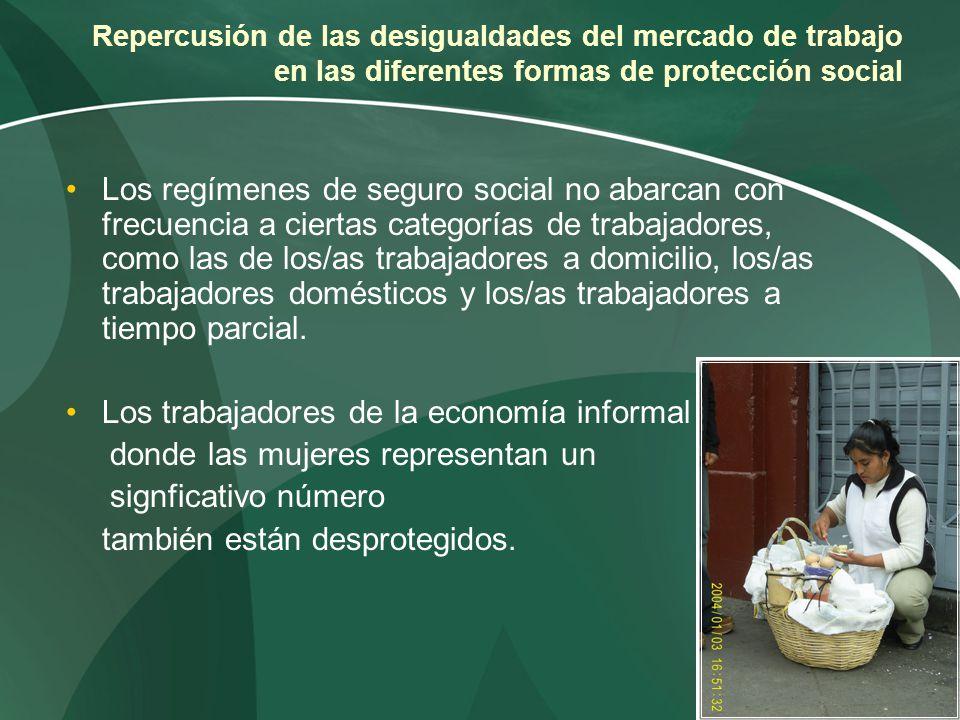 Los trabajadores de la economía informal