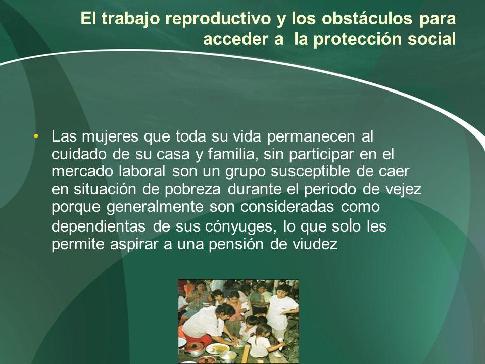 El trabajo reproductivo y los obstáculos para acceder a la protección social