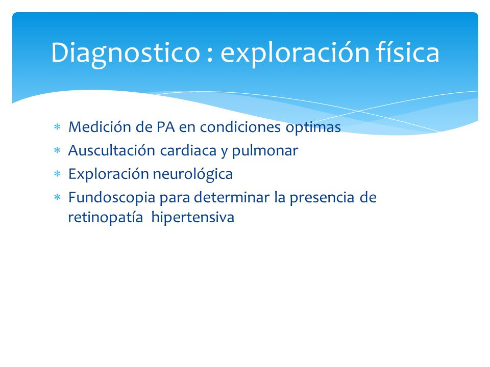 Diagnostico : exploración física