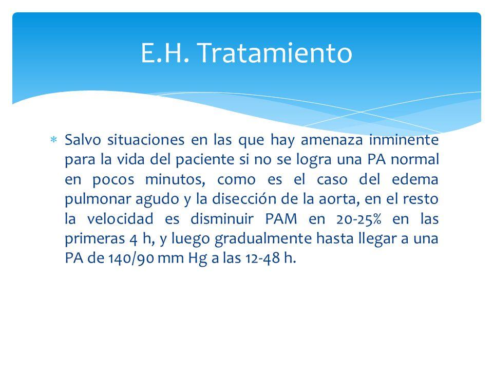 E.H. Tratamiento