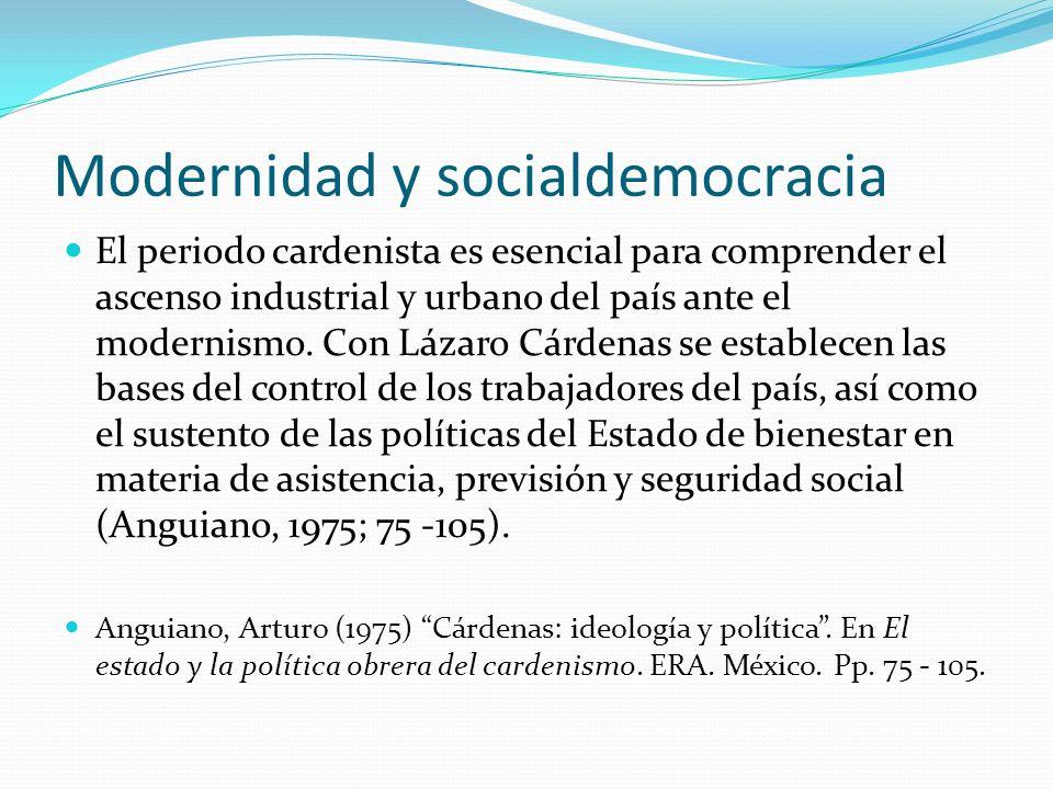 Modernidad y socialdemocracia